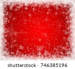 abstract christmas background... | Shutterstock . vector #746385196
