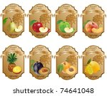 label for product | Shutterstock .eps vector #74641048