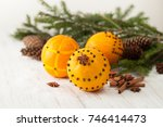 Oranges For Decoration For The...