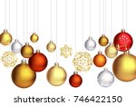 holiday background with... | Shutterstock .eps vector #746422150