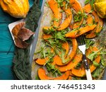 Baked Pumpkin Slices With...