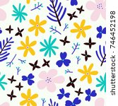 Simple Floral Background....