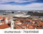 lisbon  portugal   14 september ... | Shutterstock . vector #746454868