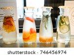 detox drink.   Shutterstock . vector #746456974