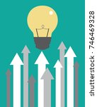 growing and innovations | Shutterstock .eps vector #746469328