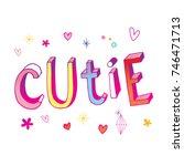 cutie    Shutterstock .eps vector #746471713