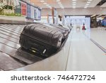 baggage claim area in the... | Shutterstock . vector #746472724