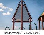 abstract image of children's... | Shutterstock . vector #746474548