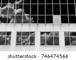 abstract image of building... | Shutterstock . vector #746474566