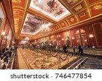 macau  china   sept 15  2017 ... | Shutterstock . vector #746477854