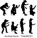 painter   artist profiles | Shutterstock .eps vector #74648257