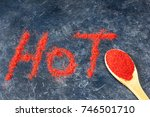 """title """"hot"""" made of paprika red ... 