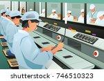 a vector illustration of... | Shutterstock .eps vector #746510323
