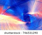 abstract liquid multicolor... | Shutterstock . vector #746531290