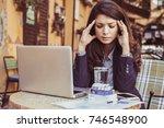 so much of work make a head...   Shutterstock . vector #746548900