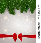 abstract beauty christmas and... | Shutterstock .eps vector #746551474