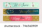 2018 happy new year background... | Shutterstock .eps vector #746560909