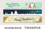 2018 happy new year background... | Shutterstock .eps vector #746560918