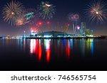 london england   december 31 ... | Shutterstock . vector #746565754