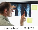 professional watching images of ... | Shutterstock . vector #746570296