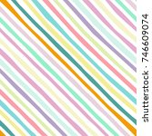 diagonal pattern stripe... | Shutterstock .eps vector #746609074