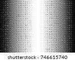 halftone fade gradient... | Shutterstock .eps vector #746615740