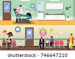 a vector illustration of... | Shutterstock .eps vector #746647210
