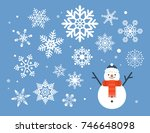 winter snow illustration | Shutterstock .eps vector #746648098