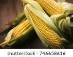 Close Up Of Peeled Corns In...