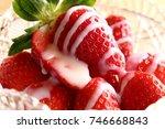strawberry | Shutterstock . vector #746668843
