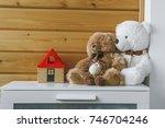 Soft Toys On The Dresser