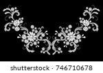 realistic white vector...   Shutterstock .eps vector #746710678