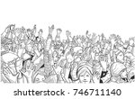 illustration of people... | Shutterstock .eps vector #746711140