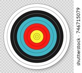 Target For Archery Target On...