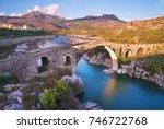 The Old Mes Bridge In Shkoder ...