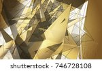 beautiful gold illustration... | Shutterstock . vector #746728108