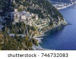 Athos Peninsula  Greece. The...