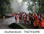 sabarimala  india   oct 21  ... | Shutterstock . vector #746741698