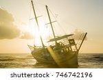 Fishing Boat Shipwreck Or...