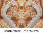 color marble texture background ... | Shutterstock . vector #746750596