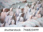xian  china   october 8  2017 ... | Shutterstock . vector #746823499