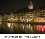 switzerland  lucern   march 19  ... | Shutterstock . vector #746868046