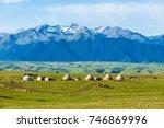 grassland in xinjiang   Shutterstock . vector #746869996