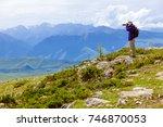 grassland in xinjiang   Shutterstock . vector #746870053
