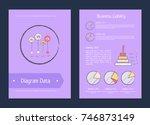 diagram data business liability ... | Shutterstock .eps vector #746873149