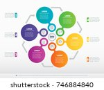 infographic of technology or... | Shutterstock .eps vector #746884840