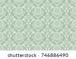 seamless ornament on background.... | Shutterstock .eps vector #746886490
