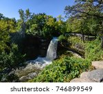 minnehaha waterfall in... | Shutterstock . vector #746899549