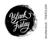 black friday. special offer... | Shutterstock .eps vector #746921104