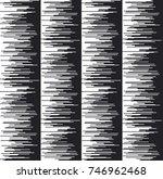 glitch texture vector... | Shutterstock .eps vector #746962468